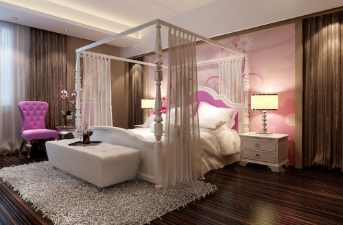 Rearrange the bed sheets and spreads in your bedroom