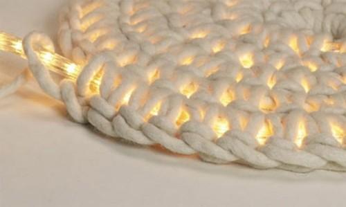 Carpet lights in bright white