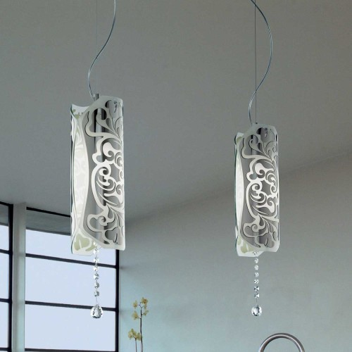 Stainless steel pendant lamp