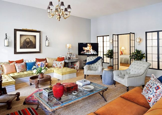 eclectic style decorating ideas