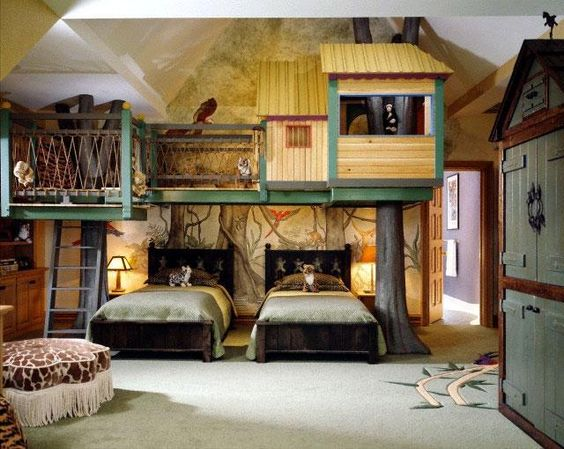 Tree-House Room For Kids