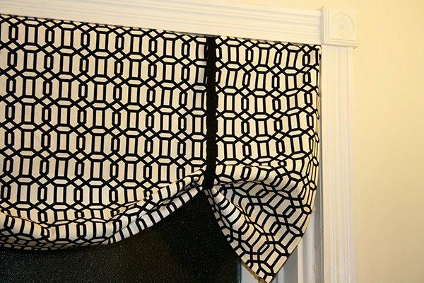 DIY No-Sew Curtain