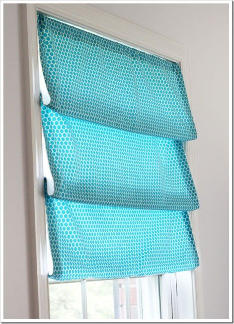 No-Sew Curtain Idea