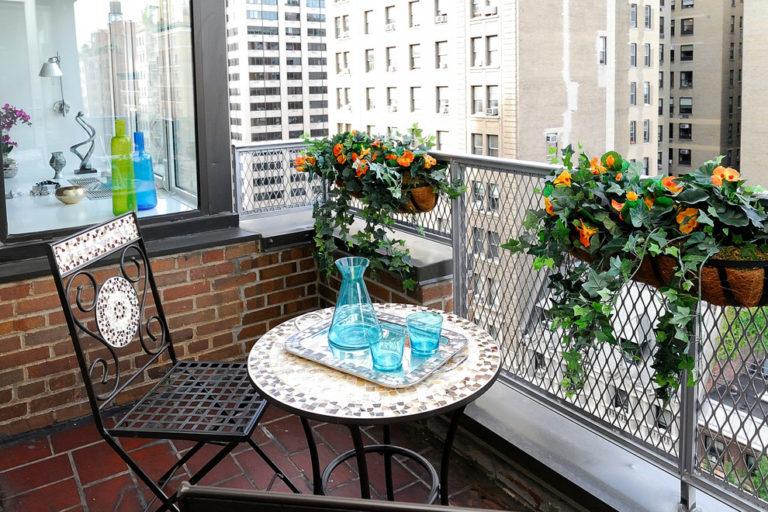 Декор балкон своими руками фото