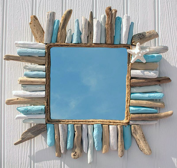 Driftwood Color Mirror