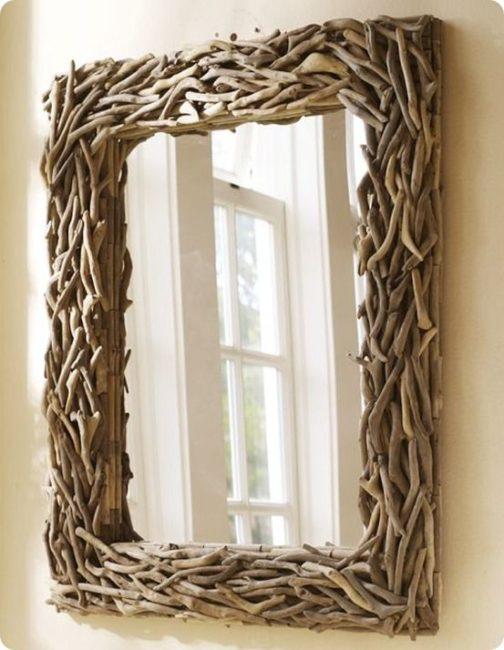 Creative Diys For Driftwood Mirror Inhabit Blog