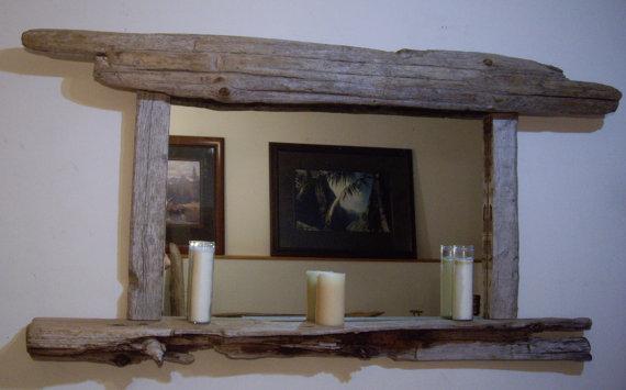 Driftwood Large Mirror