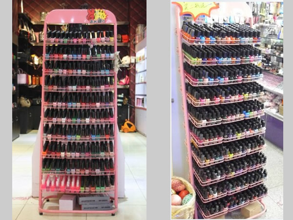 Nail Polish Display Floor Stand