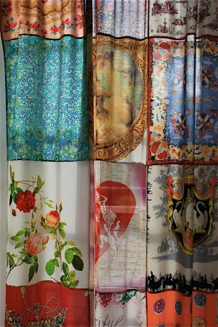Patchwork Curtains for Home