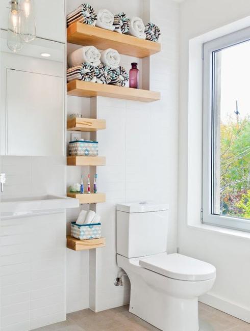 Beautiful Bathroom Shelves