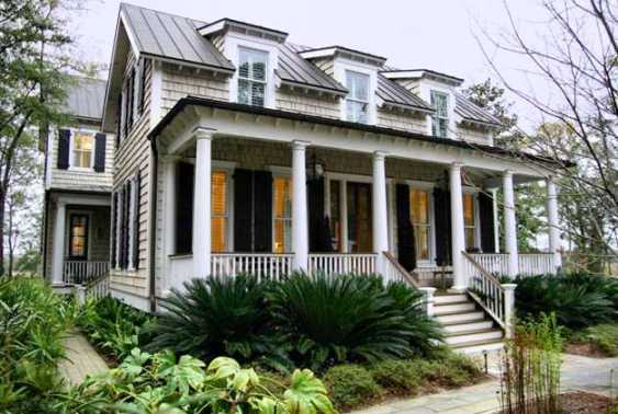 shotgun houses are the most common form of american vernacular