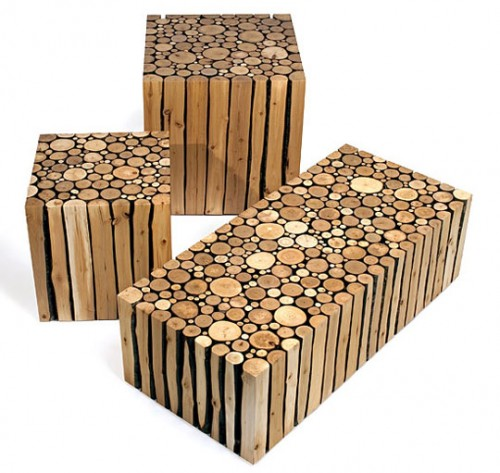 Benefits of using recycled wood furniture inhabit blog - Wooden art mobili ...