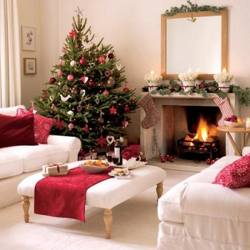 christmas home decorations to accentuate the look of your home