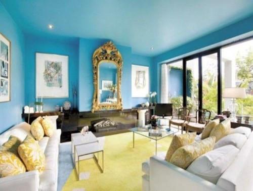 Blue Ceiling Colors
