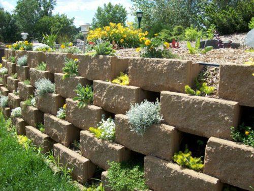How to Create Tiered Garden Walls | Inhabit Blog