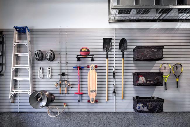 reduce the garage makeover cost - Garage Makeover