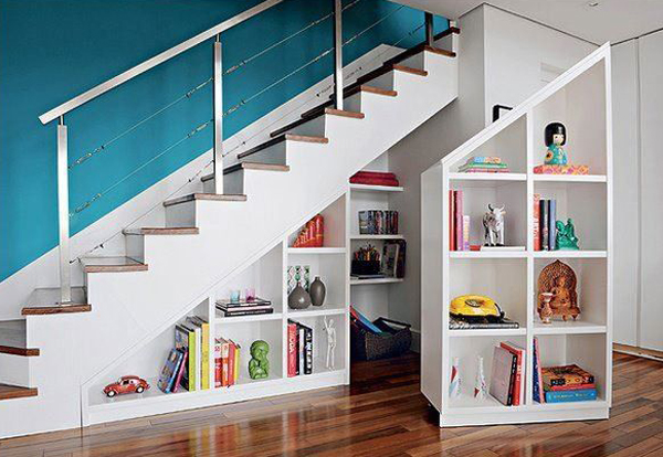 9 Ideas To Transform The Storage Space Under The Stairs Inhabit